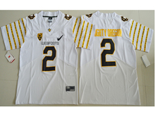 Mens Ncaa Nfl Oregon Ducks #2 Bralon Addison White Weebfoot 100th Rose Bowl Game Elite Jersey
