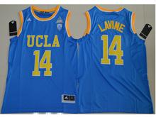 Mens Ncaa Nfl Ucla Bruins #14 Zach Lavine Blue Authentic Jersey