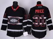 mens reebok nhl Montreal Canadiens #31 Carey Price black ice (ch) jersey