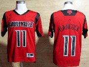 Mens Ncaa Nba Louisville Cardinals #11 Hancock Red Jersey Gz