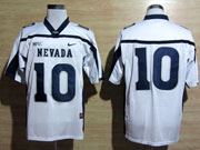 Mens Ncaa Nfl Nevada Wolf Pack #10 Kaepernick White Jersey Gz