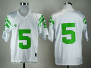 Mens Ncaa Nfl Notre Dame #5 Te'o White (green Number) Elite Jersey Gz