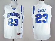 Mens Ncaa Nba Memphis Tigers #23 Rose White Jersey Gz
