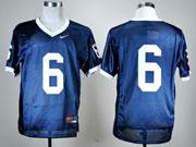 Mens Ncaa Nfl Penn State Nittany Lions #6 Blue Elite Jersey Gz