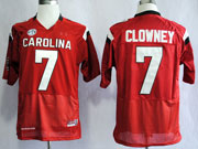 Mens Ncaa Nfl South Carolina Gamecock #7 Clowney Red (sec) Elite Jersey Gz