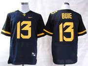 Mens Ncaa Nfl Virginia Mountaineers #13 Bule Blue Elite Jersey Gz