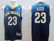 Mens Nba New Orleans Hornets #23 Davis Blue Jersey