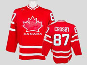 Mens Reebok Nhl Team Canada #87 Crosby Red Jersey