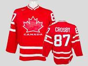 Mens Reebok Nhl Team Canada #87 Crosby Red Jersey