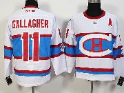 Mens Nhl Montreal Canadiens #11 Gallagher White 2016 Winter Classic Jersey