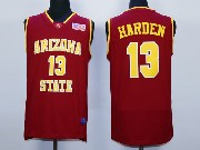 Mens Ncaa Nba Arizona State Sun Devils #13 Harden Red Jersey
