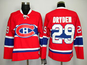 Mens Nhl Montreal Canadiens #29 Dryden Red (ch) Throwbacks Jersey