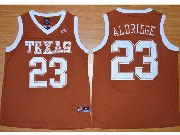 Mens Ncaa Nba Texas Longhorns #23 Aldridge Orange Jersey