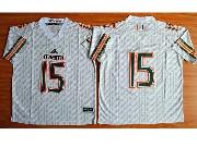 Mens Ncaa Nfl Miami Hurricanes #15 Brand Kaaya (2015 New) White Jersey