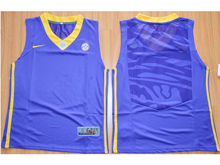 Mens Ncaa Nba Lsu Tigers Blank Purple Basketball Elite Jersey