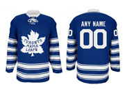 Reebok Toronto Maple Leafs (custom Made) Blue Winter Classic Jersey