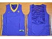 Youth Ncaa Nba Lsu Tigers Blank Purple Basketball Elite Jersey