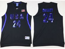 Mens Nba 12 Dream Teams #24 Bryant Black Jersey