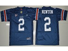 Mens Ncaa Nfl Auburn Tigers #2 Cameron Newton 2017 Navy Blue Jersey