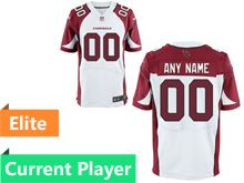 Mens Arizona Cardinals White Elite Current Player Jersey