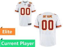 Mens Kansas City Chiefs White Elite Current Player Jersey