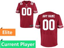 Mens San Francisco 49ers Red Elite Current Player Jersey