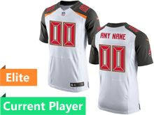 Mens Tampa Bay Buccaneers White Elite Current Player Jersey