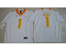Mens Ncaa Nfl Tennessee Volunteers #1 Jalen Hurd White Limited Jersey