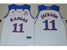 Youth Ncaa Nba Kansas Jayhawks #11 Josh Jackson White Jersey