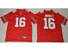 Youth Ncaa Nfl Ohio State Buckeyes #16 Jt Barrett Red Jersey