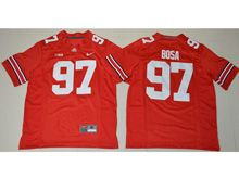 Youth Ncaa Nfl Ohio State Buckeyes #97 Nick Bosa Red Jersey