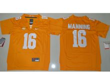 Youth Ncaa Nfl Tennessee Volunteers #16 Peyton Manning Orange Jersey