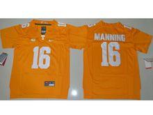 Youth Ncaa Nfl Tennessee Volunteers #16 Peyton Manning Orange Jersey