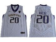 Mens Ncaa Nfl Washington Huskies #20 Markelle Fultz White College Basketball Jersey