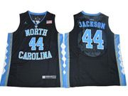 Mens Ncaa Nba North Carolina #44 Justin Jackson 2017 Tar Heels College Basketball Black Jersey