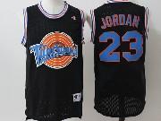 Mens Nba Space Jam Tune Squad #23 Michael Jordan Black Jersey