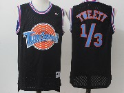 Mens Nba Space Jam Tune Squad #1-3 Tweety Black Jersey
