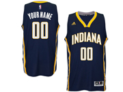 Mens Women Youth Nba Indiana Pacers Custom Made Dark Blue Road Jersey