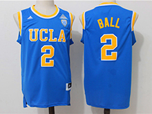 Mens Ncaa Nba Ucla Bruins Custom Made Blue College Basketball Authentic Jersey