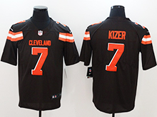 Mens Nfl Cleveland Browns #7 Deshone Kizer Brown Vapor Untouchable Limited Jersey