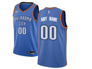 Mens Nba Oklahoma City Thunder Custom Made Blue Nike Jersey