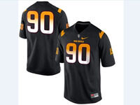Mens Ncaa Nfl Arizona State Sun Devils #90 Sutton Black Jersey(no Name)