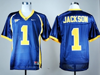 Mens Ncaa Nfl California Golden Bears #1 Desean Jackson Navy Blue Jersey