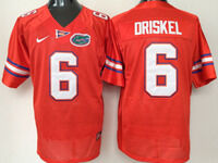 Mens Ncaa Nfl Florida Gators #6 Jeff Driskel Orange Jersey