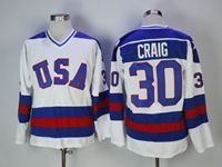 Mens Nhl Team Usa #30 Craig White Jersey