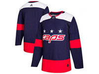 Mens Nhl Washington Capitals Custom Made Blue 2018 Stadium Series Pro Player Adidas Jersey