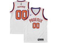 Mens Nba Phoenix Suns Custom Made White Phoenix Nike Jersey