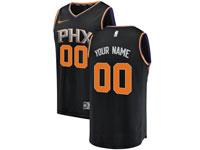 Mens Nba Phoenix Suns Custom Made Black Statement Edition Swingman Nike Jersey