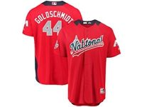 Mens Arizona Diamondbacks #44 Paul Goldschmidt 2018 Mlb All Star Game National League Red Cool Base Jersey