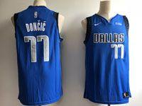 Mens Nba Dallas Mavericks #77 Luka Doncic Light Blue 2018 Nba Draft Nike Authentic Jersey
